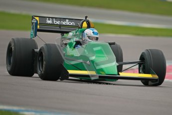 © Octane Photographic Ltd. Masters Racing – Pre-season testing – Donington Park, 5th April 2012. Single-seater classes, Tyrrell , Historic F1. Digital Ref : 0271cb1d0738