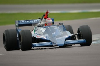© Octane Photographic Ltd. Masters Racing – Pre-season testing – Donington Park, 5th April 2012. Single-seater classes, Tyrrell , Historic F1. Digital Ref : 0271cb1d0744