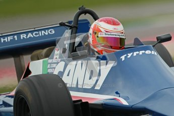 © Octane Photographic Ltd. Masters Racing – Pre-season testing – Donington Park, 5th April 2012. Single-seater classes, Tyrrell , Historic F1. Digital Ref : 0271cb1d0865