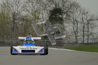 © Octane Photographic Ltd. Masters Racing – Pre-season testing – Donington Park, 5th April 2012. Single-seater classes. Digital Ref : 0272lw7d0069