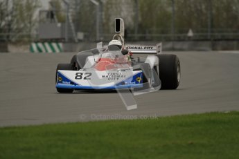 © Octane Photographic Ltd. Masters Racing – Pre-season testing – Donington Park, 5th April 2012. Single-seater classes. Digital Ref : 0272lw7d0148