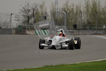 © Octane Photographic Ltd. Masters Racing – Pre-season testing – Donington Park, 5th April 2012. Single-seater classes, Josh Webster. Digital Ref : 0272lw7d0187
