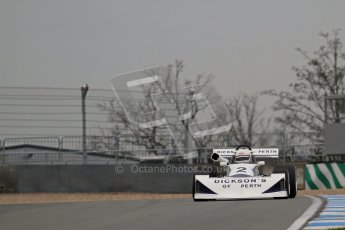 © Octane Photographic Ltd. Masters Racing – Pre-season testing – Donington Park, 5th April 2012. Single-seater classes. Digital Ref : 0272lw7d0198
