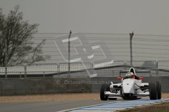 © Octane Photographic Ltd. Masters Racing – Pre-season testing – Donington Park, 5th April 2012. Single-seater classes, Josh Webster. Digital Ref : 0272lw7d0217