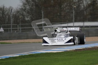 © Octane Photographic Ltd. Masters Racing – Pre-season testing – Donington Park, 5th April 2012. Single-seater classes. Digital Ref : 0272lw7d0242