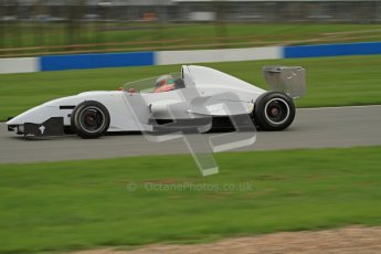 © Octane Photographic Ltd. Masters Racing – Pre-season testing – Donington Park, 5th April 2012. Single-seater classes, Josh Webster. Digital Ref : 0272lw7d0278