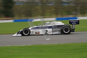 © Octane Photographic Ltd. Masters Racing – Pre-season testing – Donington Park, 5th April 2012. Single-seater classes. Digital Ref : 0272lw7d0412