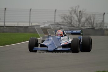 © Octane Photographic Ltd. Masters Racing – Pre-season testing – Donington Park, 5th April 2012. Single-seater classes, Tyrrell , Historic F1. Digital Ref : 0272lw7d0475