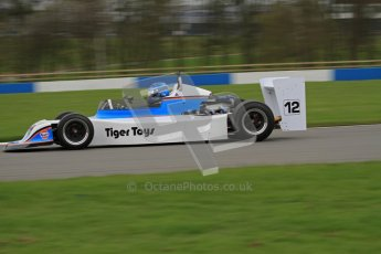 © Octane Photographic Ltd. Masters Racing – Pre-season testing – Donington Park, 5th April 2012. Single-seater classes. Digital Ref : 0272lw7d0552