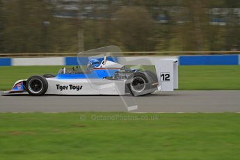 © Octane Photographic Ltd. Masters Racing – Pre-season testing – Donington Park, 5th April 2012. Single-seater classes. Digital Ref : 0272lw7d0684