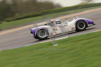 © Octane Photographic Ltd. Masters Racing – Pre-season testing – Donington Park, 5th April 2012. Sports and CanAm classes. Digital Ref : 0271cb7d6471