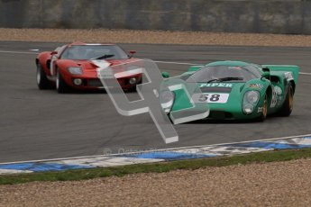 © Octane Photographic Ltd. Masters Racing – Pre-season testing – Donington Park, 5th April 2012. Sports and CanAm classes. Digital Ref : 0271lw7d9416