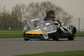 © Octane Photographic Ltd. Masters Racing – Pre-season testing – Donington Park, 5th April 2012. Sports and CanAm classes. Digital Ref : 0271lw7d9612