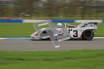 © Octane Photographic Ltd. Masters Racing – Pre-season testing – Donington Park, 5th April 2012. Sports and CanAm classes. Digital Ref : 0271lw7d9871