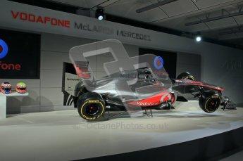 © 2012 Octane Photographic Ltd. Vodafone McLaren Mercedes Technical Car Launch MP4/27  Digital Ref : 0216lw1d2208