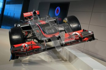 © 2012 Octane Photographic Ltd. Vodafone McLaren Mercedes Technical Car Launch MP4/27 2012  Digital Ref : 0216lw1d2239