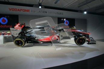 © 2012 Octane Photographic Ltd. Vodafone McLaren Mercedes Technical Car Launch MP4/27  Digital Ref : 0216lw1d2248