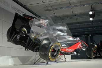 © 2012 Octane Photographic Ltd. Vodafone McLaren Mercedes Technical Car Launch MP4/27 Digital Ref : 0216lw1d2270