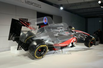 © 2012 Octane Photographic Ltd. Vodafone McLaren Mercedes Technical Car Launch MP4/27 Digital Ref : 0216lw7d2257