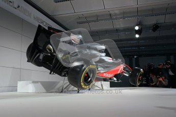 © 2012 Octane Photographic Ltd. Vodafone McLaren Mercedes Technical Car Launch MP4/27  Digital Ref : 0216lw7d2268