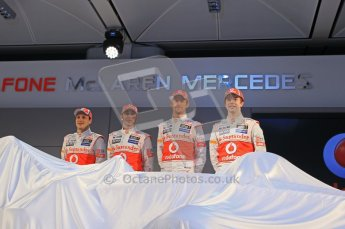 © 2012 Octane Photographic Ltd. Vodafone McLaren Mercedes Technical Car Launch MP4/27  Digital Ref : 0216lw7d2414