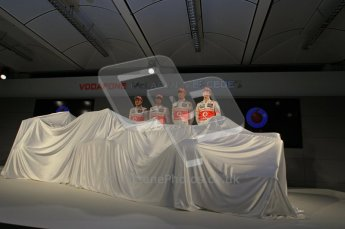 © 2012 Octane Photographic Ltd. Vodafone McLaren Mercedes Technical Car Launch MP4/27  Digital Ref : 0216lw7d2421