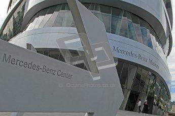 © Octane Photographic Ltd. Mercedes-Benz Museum – Stuttgart. Tuesday 31st July 2012. Digital Ref : 0442cb7d1241