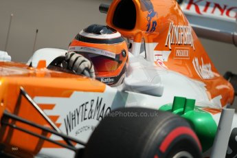 © Octane Photographic Ltd. 2012. F1 Monte Carlo - Practice 3. Saturday 26th May 2012. Nico Hulkenberg - Force India. Digital Ref : 0354cb1d6565