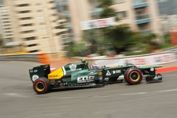 © Octane Photographic Ltd. 2012. F1 Monte Carlo - Race. Sunday 27th May 2012. Vitaly Petrov - Caterham. Digital Ref : 0357cb1d7675