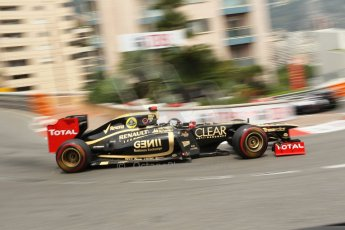 © Octane Photographic Ltd. 2012. F1 Monte Carlo - Race. Sunday 27th May 2012. Kimi Raikkonen - Lotus. Digital Ref : 0357cb1d7687