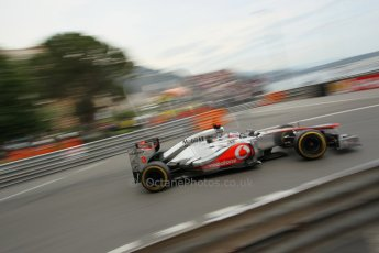 © Octane Photographic Ltd. 2012. F1 Monte Carlo - Race. Sunday 27th May 2012. Jenson Button - McLaren. Digital Ref : 0357cb1d7779