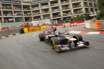 © Octane Photographic Ltd. 2012. F1 Monte Carlo - Race. Sunday 27th May 2012. Jean-Eric Vergne - Toro Rosso. Digital Ref : 0357cb1d7936
