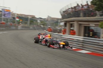 © Octane Photographic Ltd. 2012. F1 Monte Carlo - Race. Sunday 27th May 2012. Mark Webber - Red Bull. Digital Ref : 0357cb1d7962
