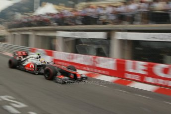 © Octane Photographic Ltd. 2012. F1 Monte Carlo - Race. Sunday 27th May 2012. Lewis Hamilton - McLaren. Digital Ref : 0357cb1d8005