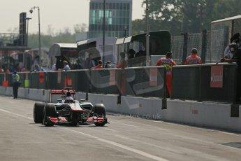© 2012 Octane Photographic Ltd. Italian GP Monza - Saturday 8th September 2012 - F1 Qualifying. McLaren MP4/27 - Jenson Button. Digital Ref : 0513lw1d1917