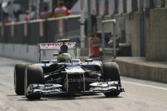 © 2012 Octane Photographic Ltd. Italian GP Monza - Saturday 8th September 2012 - F1 Qualifying. Williams FW34 - Bruno Senna. Digital Ref :
