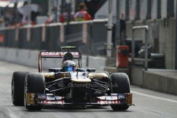 © 2012 Octane Photographic Ltd. Italian GP Monza - Saturday 8th September 2012 - F1 Qualifying. Toro Rosso STR7 - Jean-Eric Vergne. Digital Ref :