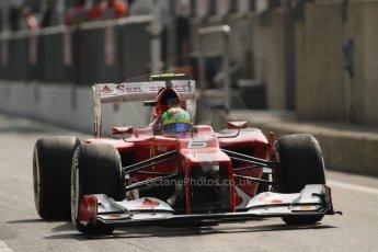 © 2012 Octane Photographic Ltd. Italian GP Monza - Saturday 8th September 2012 - F1 Qualifying. Ferrari F2012 - Felipe Massa. Digital Ref : 0513lw7d8277