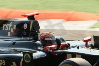 © 2012 Octane Photographic Ltd. Italian GP Monza - Friday 7th September 2012 - GP2 Qualifying - Lotus GP - James Calado. Digital Ref : 0508lw1d0115