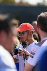 World © Octane Photographic Ltd. Formula 1 Italian GP, Press Conference 6th September 2012 - Lewis Hamilton - Vodafone McLaren Mercedes. Digital Ref : 0494lw1d9070