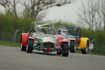 © Octane Photographic Ltd. Motors TV day – Donington Park, Saturday 31st March 2012. Caterham Graduates - Mega and Classic classes. Digital ref : 0267cb1d9475
