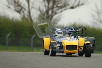 © Octane Photographic Ltd. Motors TV day – Donington Park,  Saturday 31st March 2012. Caterham Graduates - Mega and Classic classes. Digital ref : 0267cb1d9477