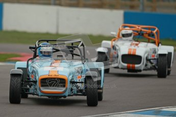 © Octane Photographic Ltd. Motors TV day – Donington Park,  Saturday 31st March 2012. Caterham Graduates - Mega and Classic classes. Digital ref : 0267cb1d9535
