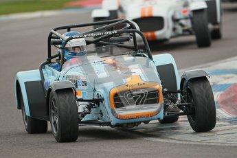 © Octane Photographic Ltd. Motors TV day – Donington Park,  Saturday 31st March 2012. Caterham Graduates - Mega and Classic classes. Digital ref : 0267cb1d9704