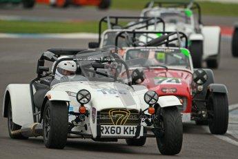 © Octane Photographic Ltd. Motors TV day – Donington Park,  Saturday 31st March 2012. Caterham Graduates - Mega and Classic classes. Digital ref : 0267cb1d9780