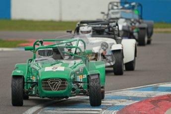 © Octane Photographic Ltd. Motors TV day – Donington Park,  Saturday 31st March 2012. Caterham Graduates - Mega and Classic classes. Digital ref : 0267cb1d9815