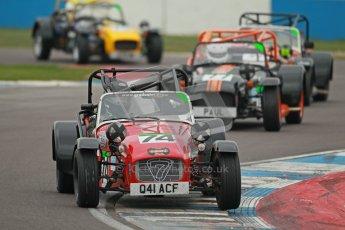 © Octane Photographic Ltd. Motors TV day – Donington Park,  Saturday 31st March 2012. Caterham Graduates - Mega and Classic classes. Digital ref : 0267cb1d9818