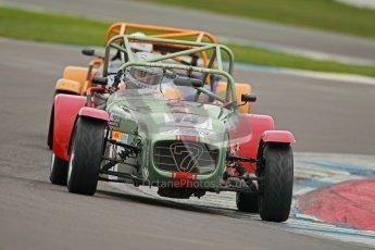 © Octane Photographic Ltd. Motors TV day – Donington Park,  Saturday 31st March 2012. Caterham Graduates - Mega and Classic classes. Digital ref : 0267cb1d9912