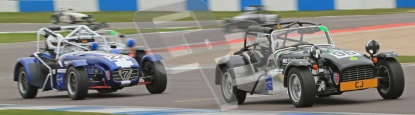 © Octane Photographic Ltd. Motors TV day – Donington Park,  Saturday 31st March 2012. Caterham Graduates - Mega and Classic classes. Digital ref : 0267cb7d6190