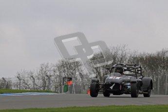 © Octane Photographic Ltd. Motors TV day – Donington Park,  Saturday 31st March 2012. Caterham Graduates - Mega and Classic classes. Digital ref : 0267lw7d7831
